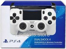 SONY DUALSHOCK 4 PS4 WIRELESS CONTROLLER (NEW MODEL) (CUH-ZCT2G) (WHITE)