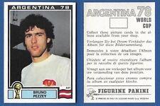 DEUTSCHLAND FIGURINA CALCIATORI PANINI ARGENTINA 78 NUOVA//NEW N.143 BEER