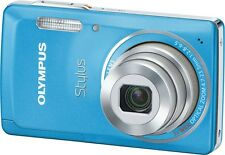 Olympus Stylus 5010 / µ (mju) 5010 14.0 MP Digital Camera - Light blue Brand New