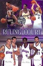 "2003 Sacramento Kings Collage ""Ruling Court""  Original Starline Poster OOP"