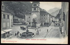 Switzerland ALTDORF Dorfplatz mit Telldenkmal Early PPC