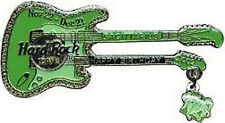 Hard Rock Cafe TOKYO 2002 Sagittarius BIRTHDAY GUITAR PIN Zodiac Dangler #20279