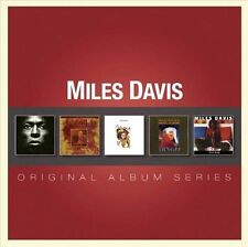 MILES DAVIS Original Album 5CD NEW Tutu/Music From Siesta/Amandla/Dingo/Doo Bop