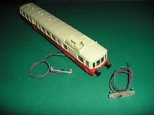 KIT TRAIN HO.ECLAIRAGE PICASSO. REVERSIBLES. 2 LEDS CANON LONG 2 mm.BLANC/ROUGE