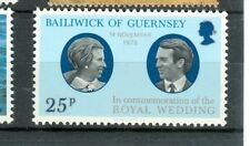 PRINCESS ANNE WEDDING GUERNSEY 1973