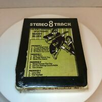 Moody Blues On the Threshold of a Dream Stereo 8 Track Sealed