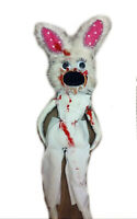 Gothic Doll,Zombie,Halloween,Voodoo,Evil Dead,Creepy Bloody Rabbit,Scary nuts