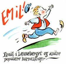 Emil CD i lonneberget, Canzoni canzoni norvegese, Michel Lönneberga Astrid Lindgren