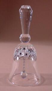 SWAROVSKI CRYSTAL TABLE BELL SMALL 013916 MINT BOXED RETIRED RARE