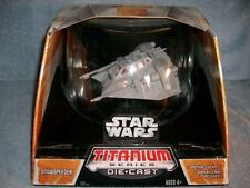 Star Wars Titanium Series Snowspeeder Die Cast 7 Inch Hasbro 2006 Mob