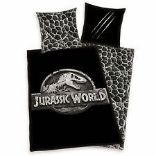 Herding Bettwäsche Jurassic World Logo 135 x 200cm Baumwolle