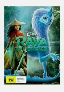 Raya and The Last Dragon - (DVD, 2021) Brand New Sealed Region 4