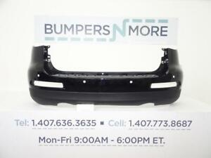 OEM 2008-2015 Infiniti EX35/EX37/QX50 Base/Journey w/ Sensors Rear Bumper Cover