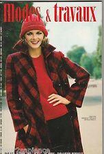 Modes et travaux N°911 octobre 1976 page poupées couture broderie crochet