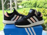 ADIDAS Originals I-5923 Running Shoes CG6039 Black/White/Pink Womens Size 8.5