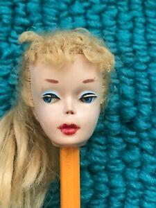 Vintage Barbie #3 or #4 PONYTAIL HEAD  **RESTORE / TLC**