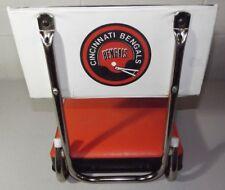Vintage Cincinnati Bengals Stadium Seat Cushion Bleacher Pad Old Logo 1970's