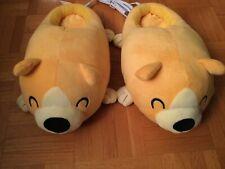 Cute Kawaii Dog Puppies Corgi Plush USB Heated Slippers