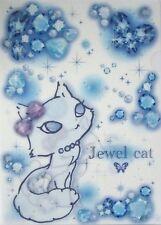 San-X Jewel Cat A4 Plastic File Folder (White)~Kawaii!