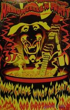 Moby Grape KFAT Halloween Party | Orig 1977 Concert Poster, second printing.