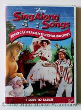 Mary Poppins Supercalifragilisticexpialidocious Sing Along Songs Karaoke DVD