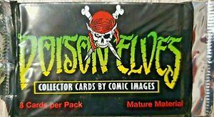 Poison Elves Collector Trading Cards OVP Sammelkarten 8 Karten 1996 Comic Images