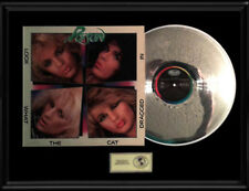 POISON LOOK WHAT THE CAT DRAGGED IN GOLD RECORD PLATINUM DISC LP ALBUM COVER