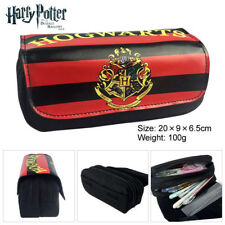 New Harry Potter Pencil Case Double layer Large capacity Anime Pen Case Gift