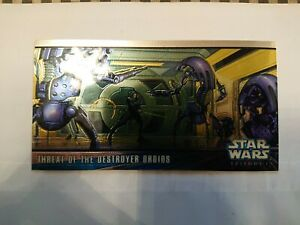 Star Wars Topps Widevision 1999 Episode I Series Two Hobby Chrome Chase H-C1...