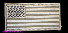 UNITED STATES OF AMERICA TAN FLAG PATCH USA LAND OF THE FREE HOME OF THE BRAVE!!