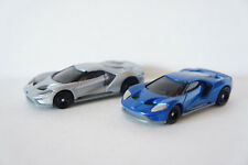 Tomica~ No.19 Ford Gt Concept Car (�回Blue) & Silver 2 cars 1/64