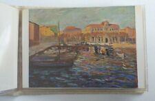 More details for 6 rare winston churchill original postcards - unused -paintings - soho gallery