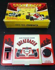 CASIO GREAT RACER CG-320 car racing game watch Japan vintage rare 1984