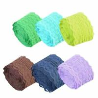 10m Flower Stretch Lace Trim Ribbon Sewing Dress Clothes DIY Accessories Super