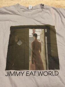 JIMMY EAT WORLD Invented Tour T-Shirt 2010 Men's Large Band Shirt