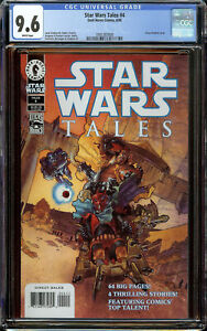 Star Wars Tales #1 CGC 9.6 White Pages - 1st Appearance of the Dark Troopers