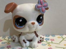 Littlest Pet Shop LPS Authentic 2106 White Blythe Bulldog Puppy