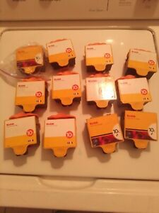 KODAK Virgin Empty 10c Cartridges Lot Of 12