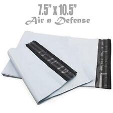 100 pcs 7.5x10.5 Poly Mailers Envelopes Plastic Shipping Bag 2.5 Mil AirnDefense