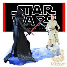 "STARKILLER BASE KYLO REN v REY - Star Wars Black Series 6"" TFA - KMART EXCLUSIVE"