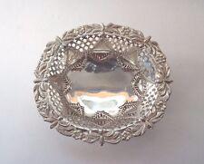 Table Basket Art Nouveau Solid Sterling Silver FINE Oriental C S Harris 1890