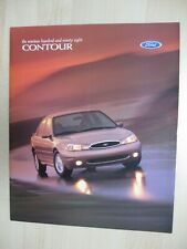 Ford Contour no Mondeo prestige brochure Prospekt text English 18 pgs 1998