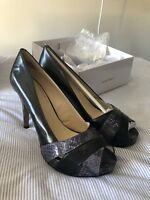 Nine West Black Heels - Size 8 - New In Box