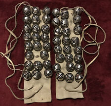 Vintage Native American Regalia Dance Bells With Leather Strap