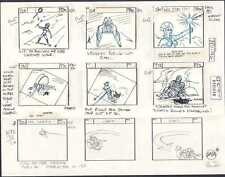 He-Man MOTU original production storyboard ETERNAL DARKNESS Episode 42 1983 p24a