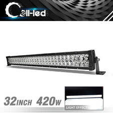 32inch 540W LED Work Light Bars Combo Boat For Jeep Ford Offroad Lamp PK 32/34