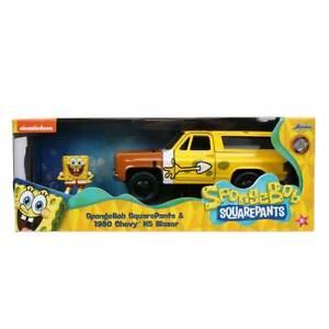 Jada Hollywood Rides: SpongeBob SquarePants & 1980 Chevy K5 Blazer 1/32 Scale