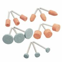 Grinding Stone Wheel Head Dremel Tools Accessories Abrasive Mounted Stone 15pcs