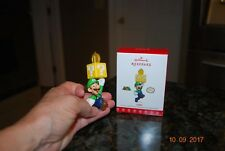 2017 Hallmark Luigi Nintendo Super Mario Limited Edition Xmas Keepsake Ornament