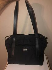 Vintage Gucci Black Nylon Tote Large With Expansions